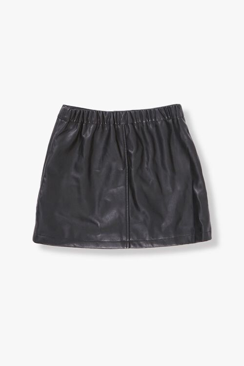 BLACK Girls Button-Front Skirt (Kids), image 2