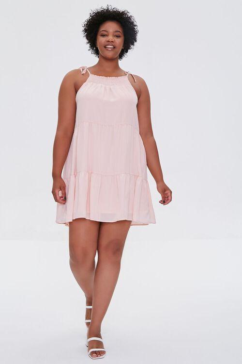 Plus Size Trapeze Mini Dress, image 4