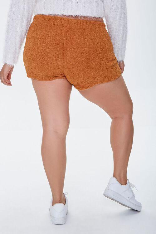 CAMEL Plus Size Sweater-Knit Shorts, image 3