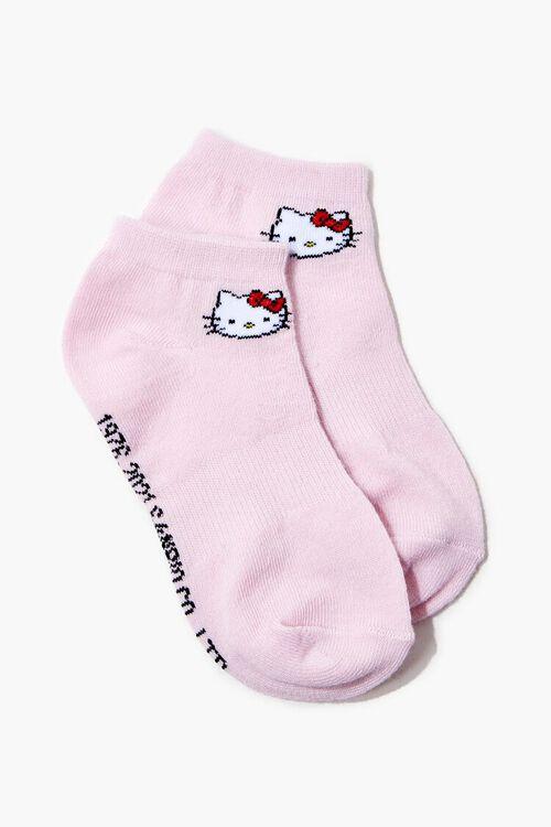 Girls Hello Kitty Ankle Socks (Kids), image 1
