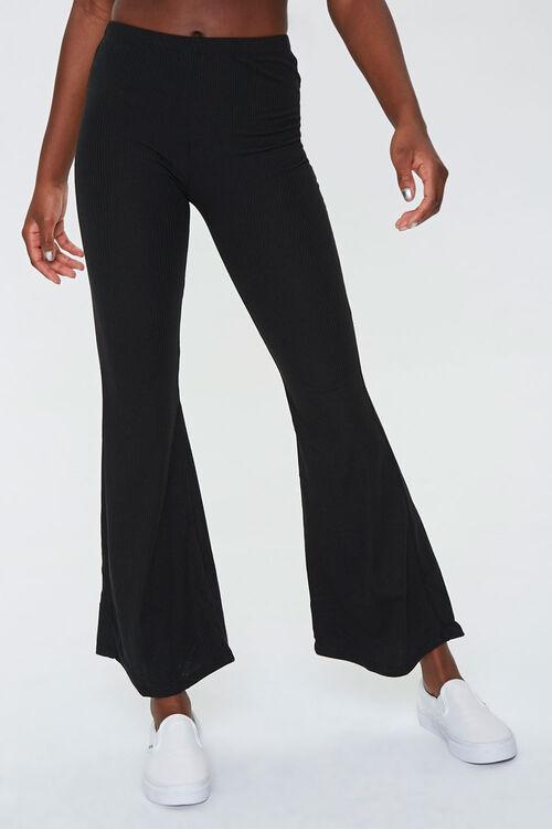 Ribbed Cropped Cami & Pants Set, image 6
