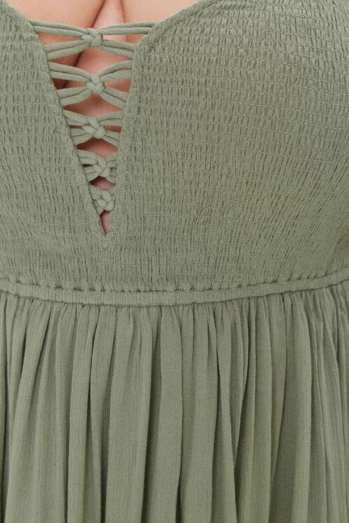 Plus Size Crisscross Maxi Dress, image 5