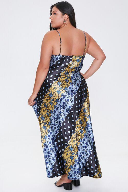 Plus Size Patchwork Maxi Dress, image 3