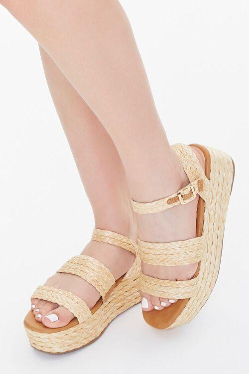 Basketwoven Espadrille Sandals, image 1