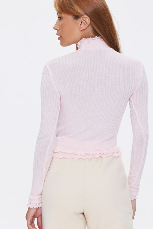 Ribbed Lettuce-Edge Top, image 3