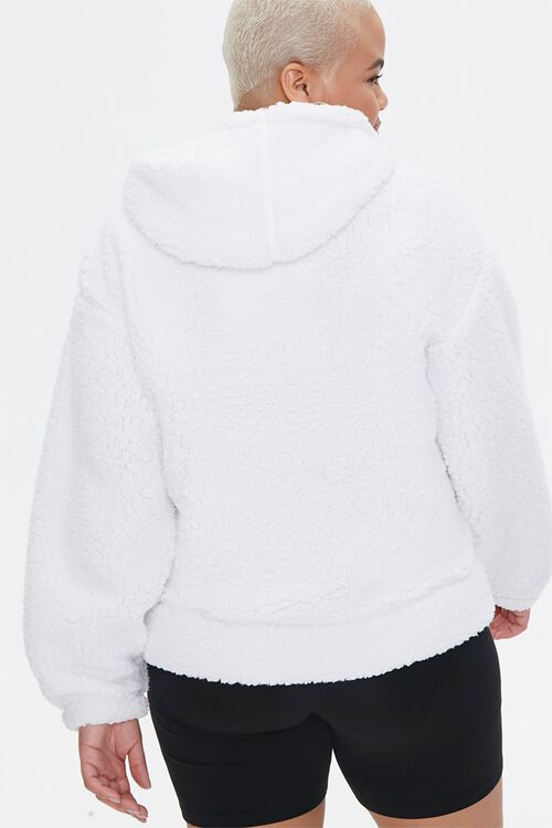 Plus Size Faux Shearling Barbie™ Hoodie, image 3