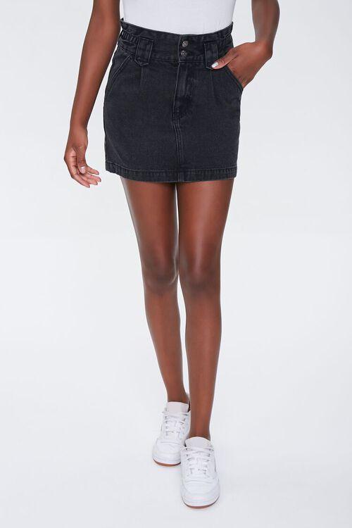 Denim Mini Skirt, image 2