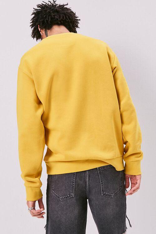 Amped Embroidered Graphic Fleece Sweatshirt, image 3