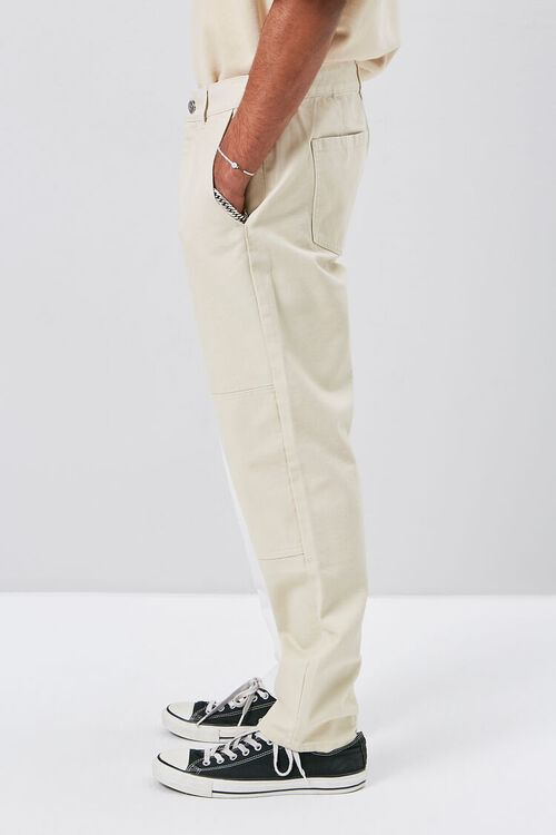 Colorblock Canvas Pants, image 3
