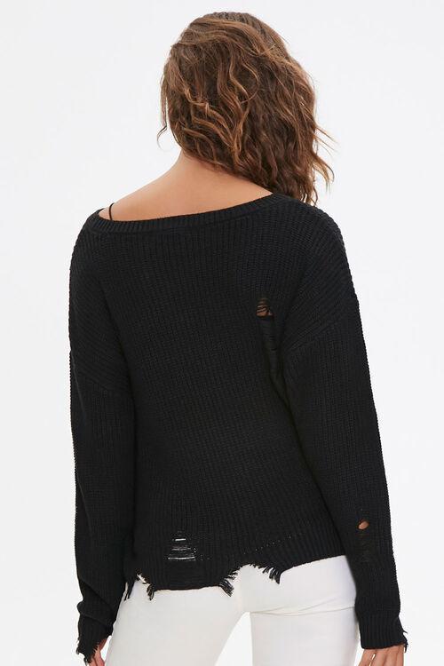 Distressed Drop-Sleeve Sweater, image 3