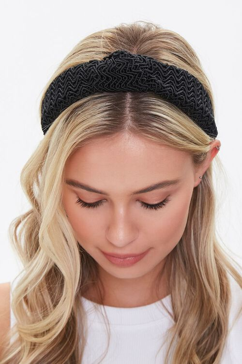 Zig-Zag Knotted Headband, image 3