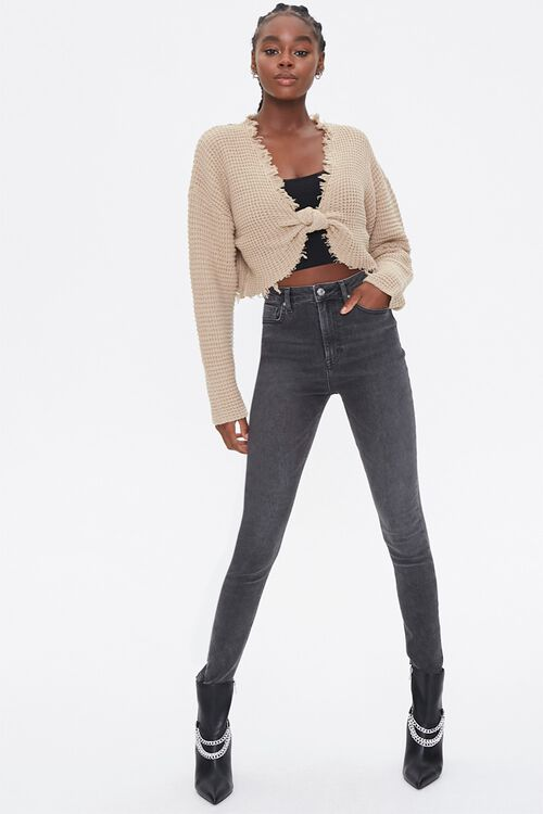 Ribbed Cropped Sweater, image 4
