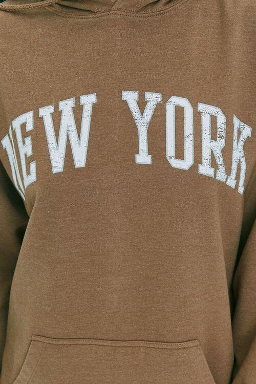 New York Graphic Fleece Hoodie, image 5