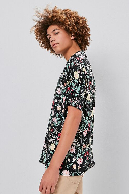 Floral Print Buttoned Shirt, image 3