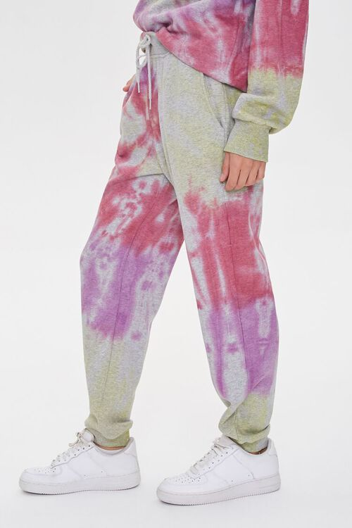 Fleece Tie-Dye Joggers, image 3