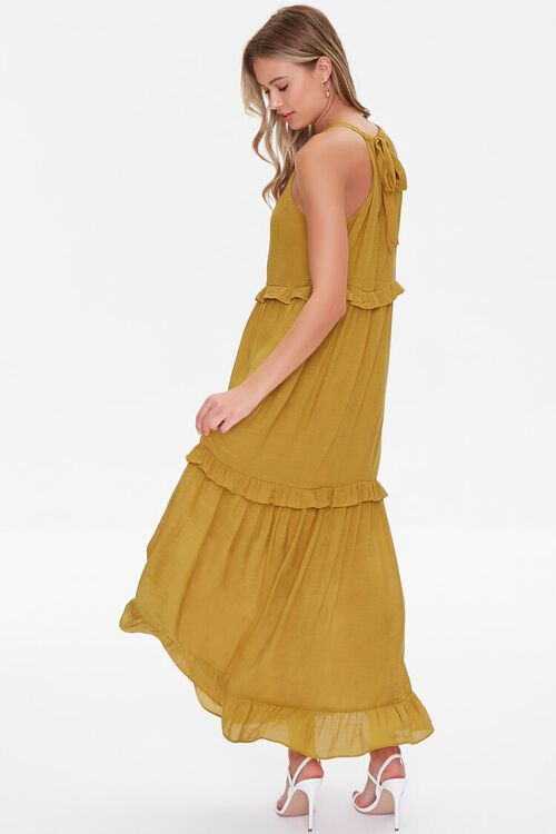Tiered Halter Maxi Dress, image 3