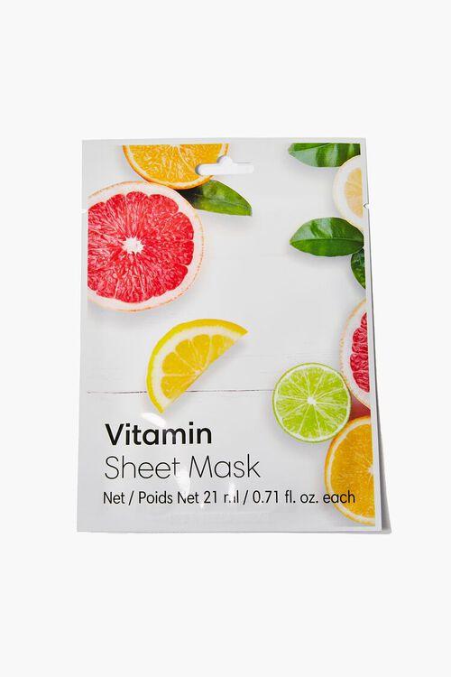 WHITE Vitamin Sheet Face Mask, image 1