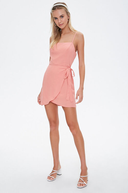 Cami Self-Tie Overlay Mini Dress, image 4