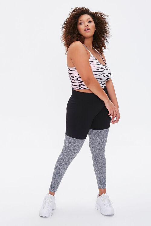 Plus Size Active Tiger Striped Cami, image 4