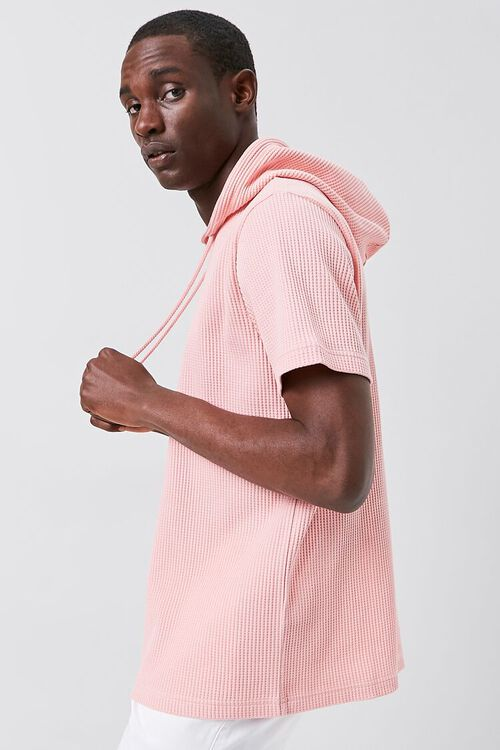 Ribbed Knit Hooded Top, image 2