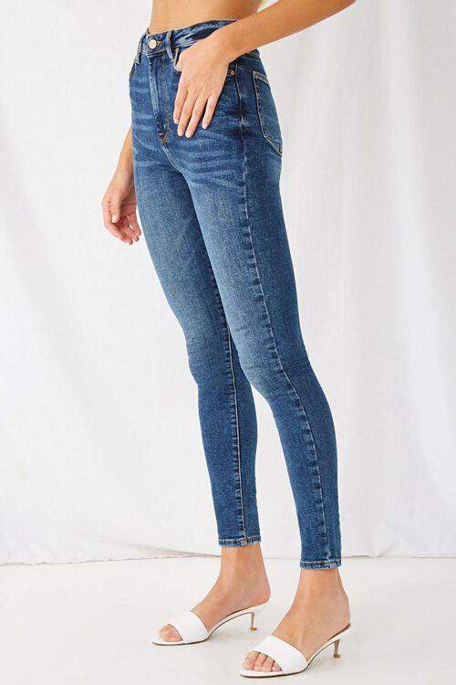 DARK DENIM The Fairfax Super Skinny High-Rise Jeans, image 3