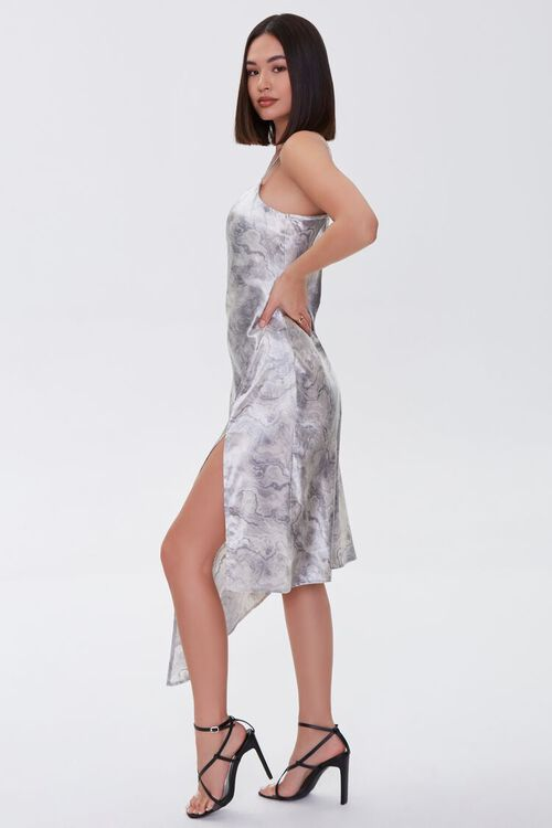 Oil Wash Satin Dress, image 2