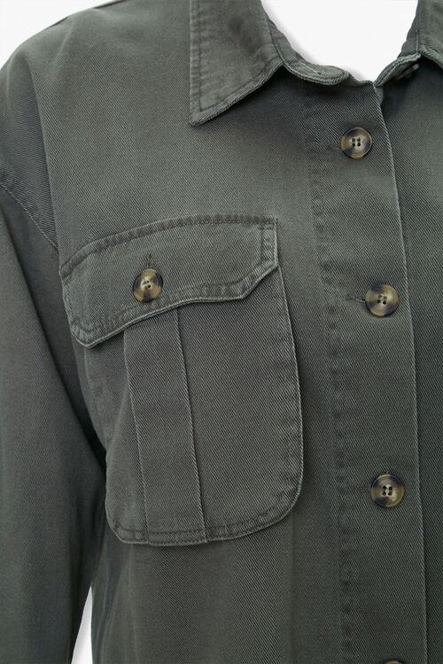 Plus Size Frayed-Trim Jacket, image 4
