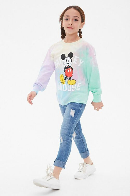 Girls Mickey Mouse Tee (Kids), image 3