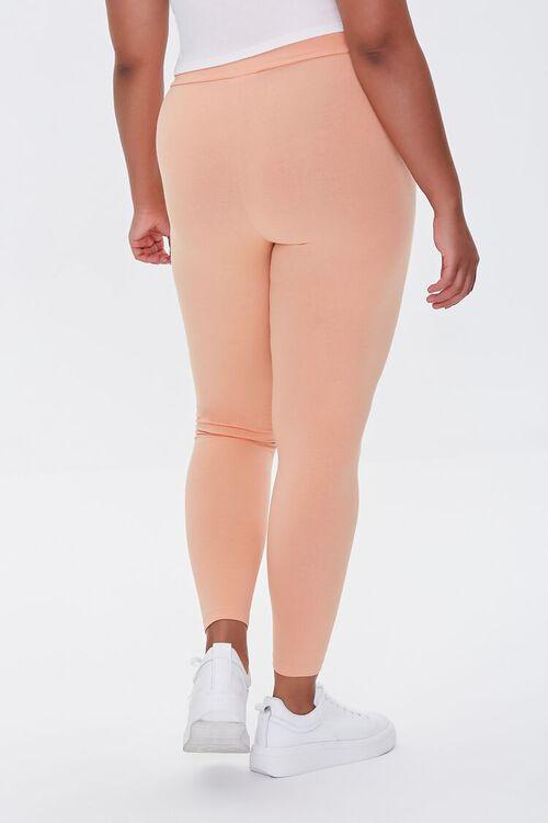Plus Size Basic Organically Grown Cotton Leggings, image 4