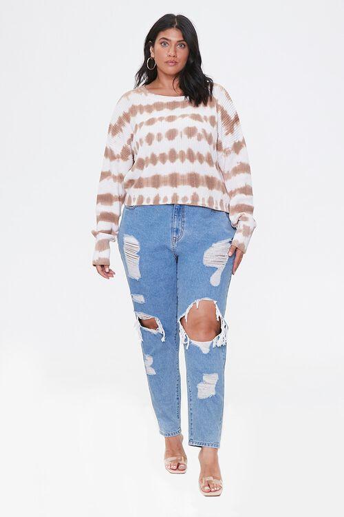 Plus Size Tie-Dye Sweater, image 4