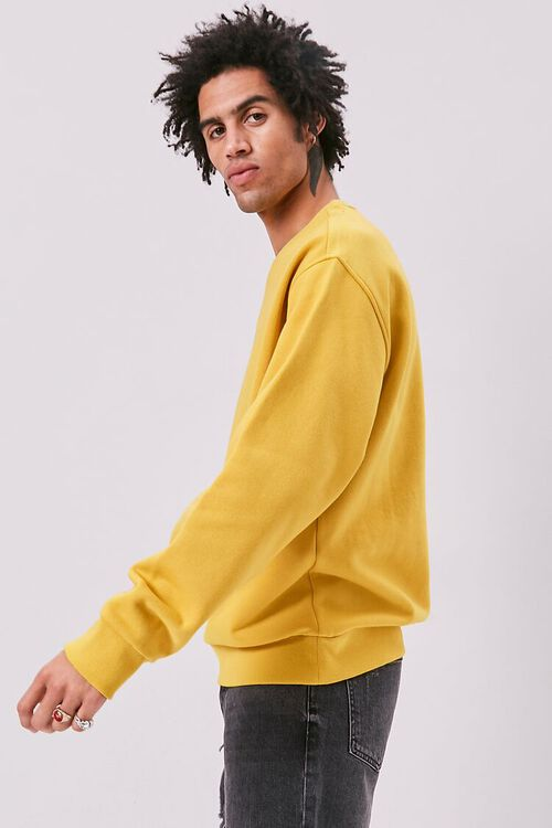 Amped Embroidered Graphic Fleece Sweatshirt, image 2