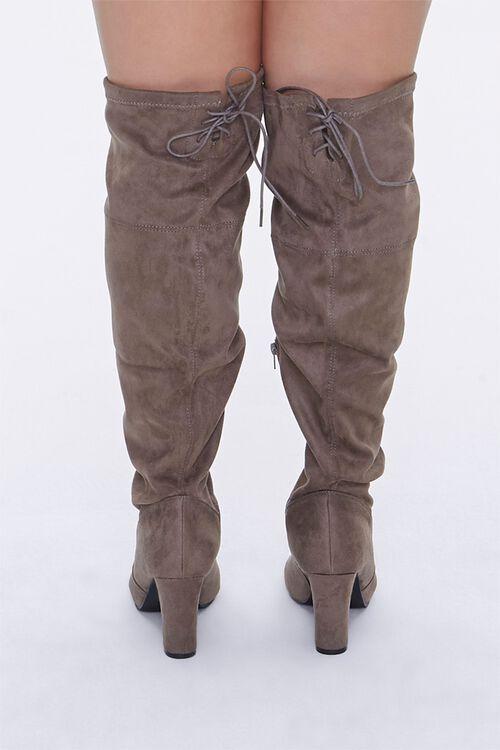 Over-the-Knee Block Heel Boots (Wide), image 3