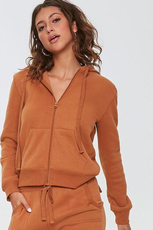 Fleece Zip-Up Hoodie & Sweatpants Set, image 6