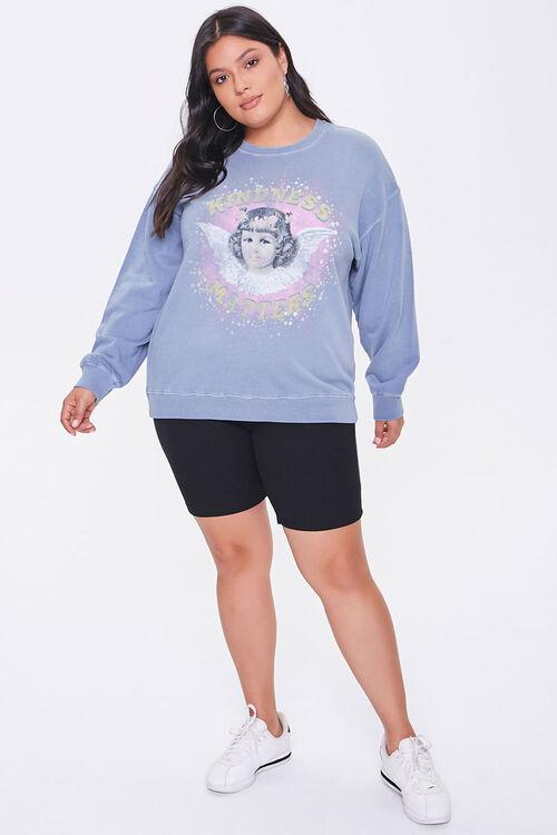 Plus Size Kindness Graphic Sweatshirt, image 4