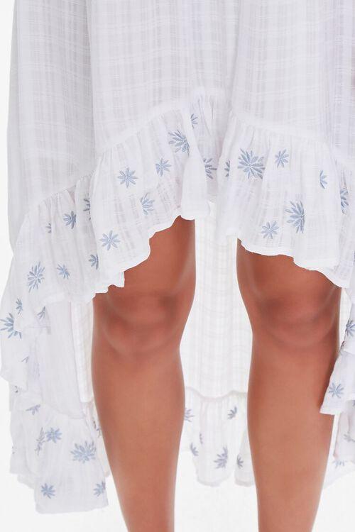 Embroidered Off-the-Shoulder Dress, image 5