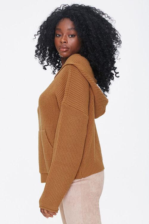 Hooded Drop-Sleeve Sweater, image 3