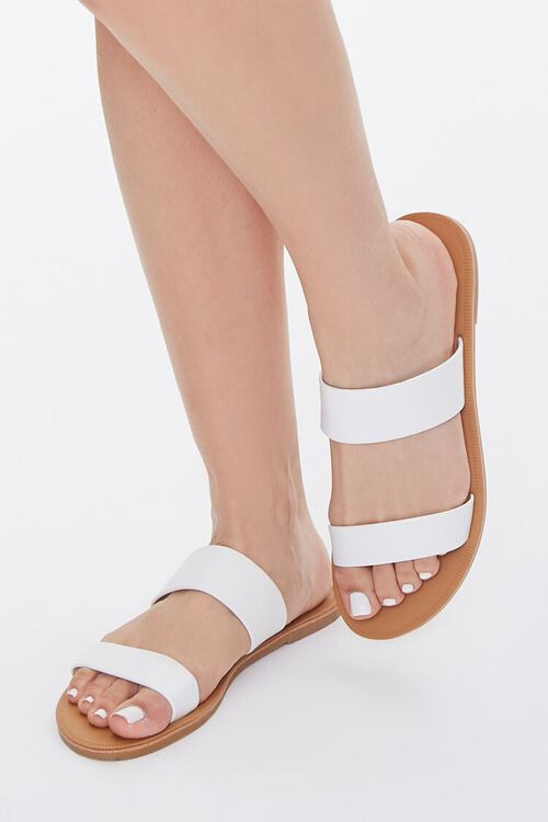 Faux Leather Strapped Sandals, image 1