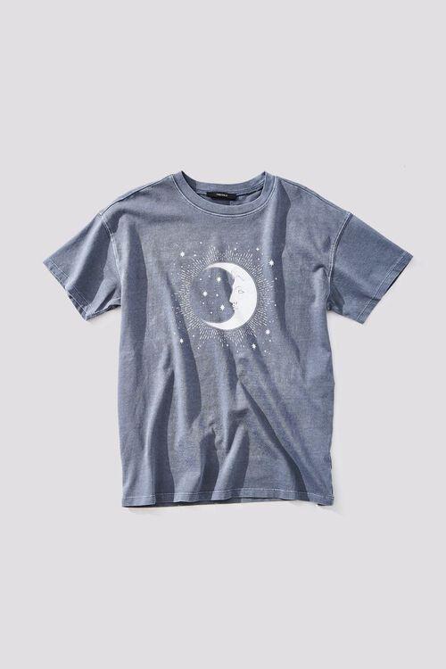 Crescent Moon Graphic Tee, image 1