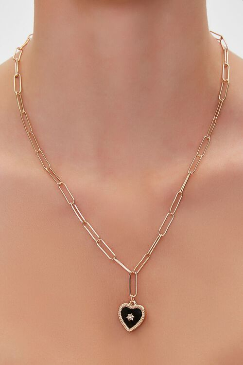 Heart Charm Necklace, image 1
