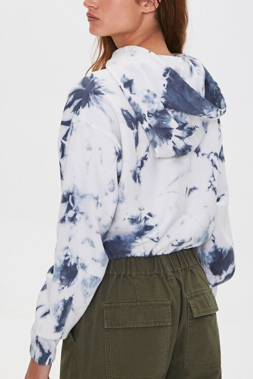 French Terry Bleach-Dye Hoodie, image 3