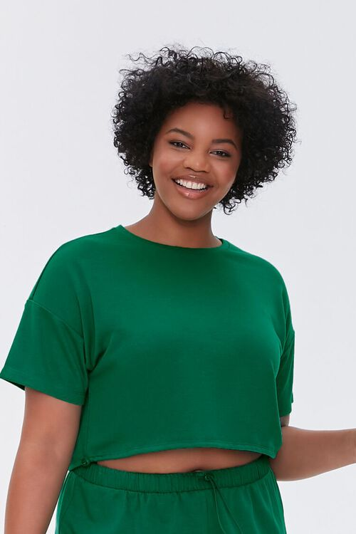 Plus Size French Terry Tee, image 1