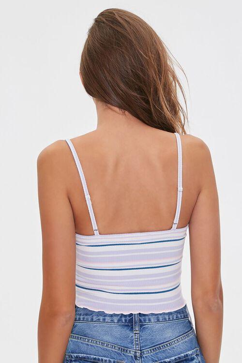 Basic Striped Cropped Cami, image 3