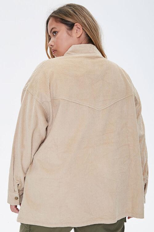 Plus Size Corduroy Jacket, image 3