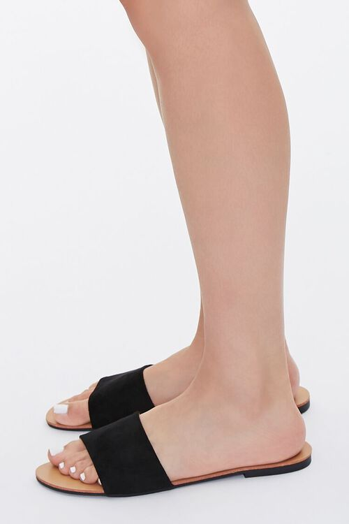 Faux Leather Open-Toe Sandals, image 2