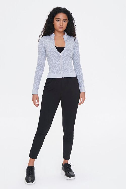 Active Seamless Animal Print Jacket, image 4