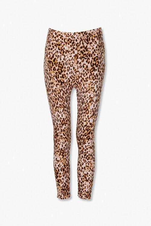 Leopard Print Skinny Pants, image 1