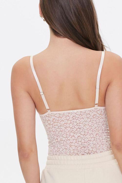 Lace Leopard Print Bodysuit, image 3