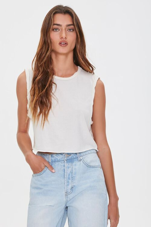 Raw-Cut Muscle Tee, image 1