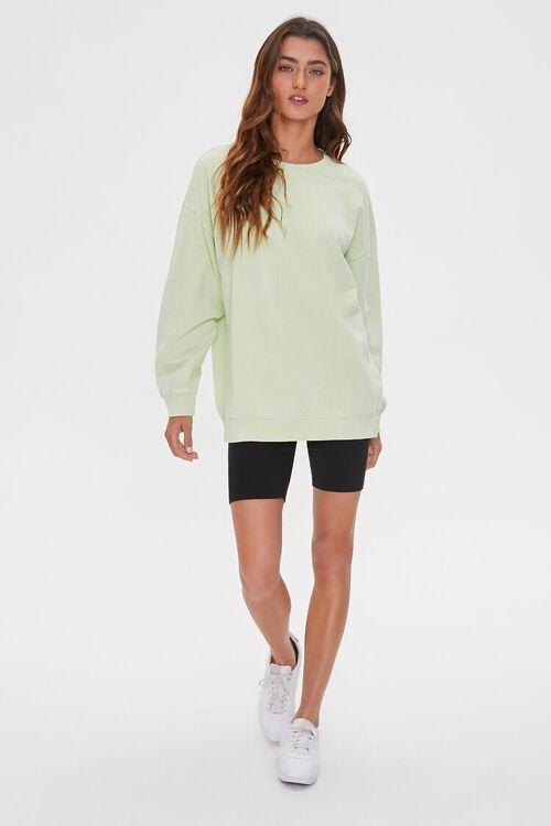Oversized Fleece Sweatshirt, image 4