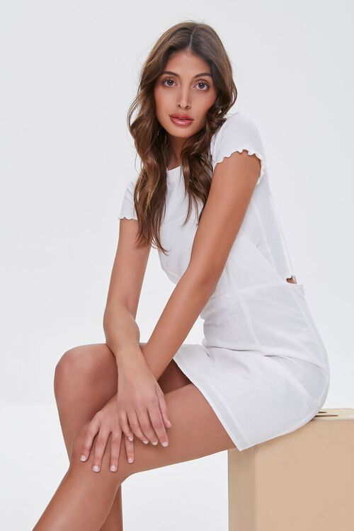 Linen-Blend Cami Dress, image 1